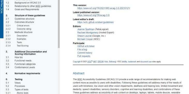 wcag 3.0-accesibilidad-pautas-novedades